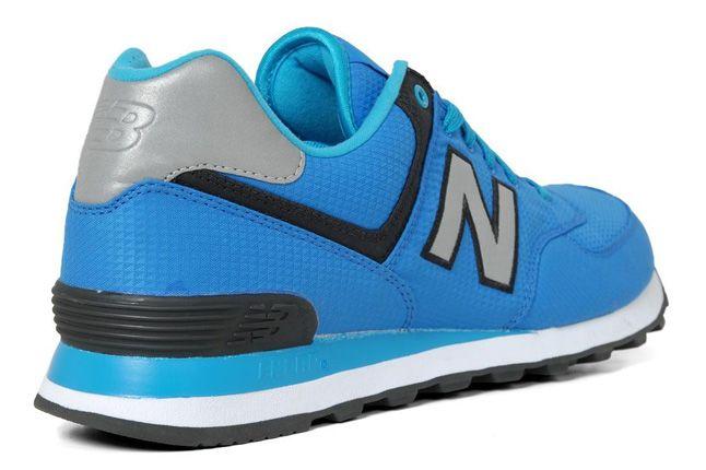 New Balance 574 Windbreaker Pack Blue Heel 1