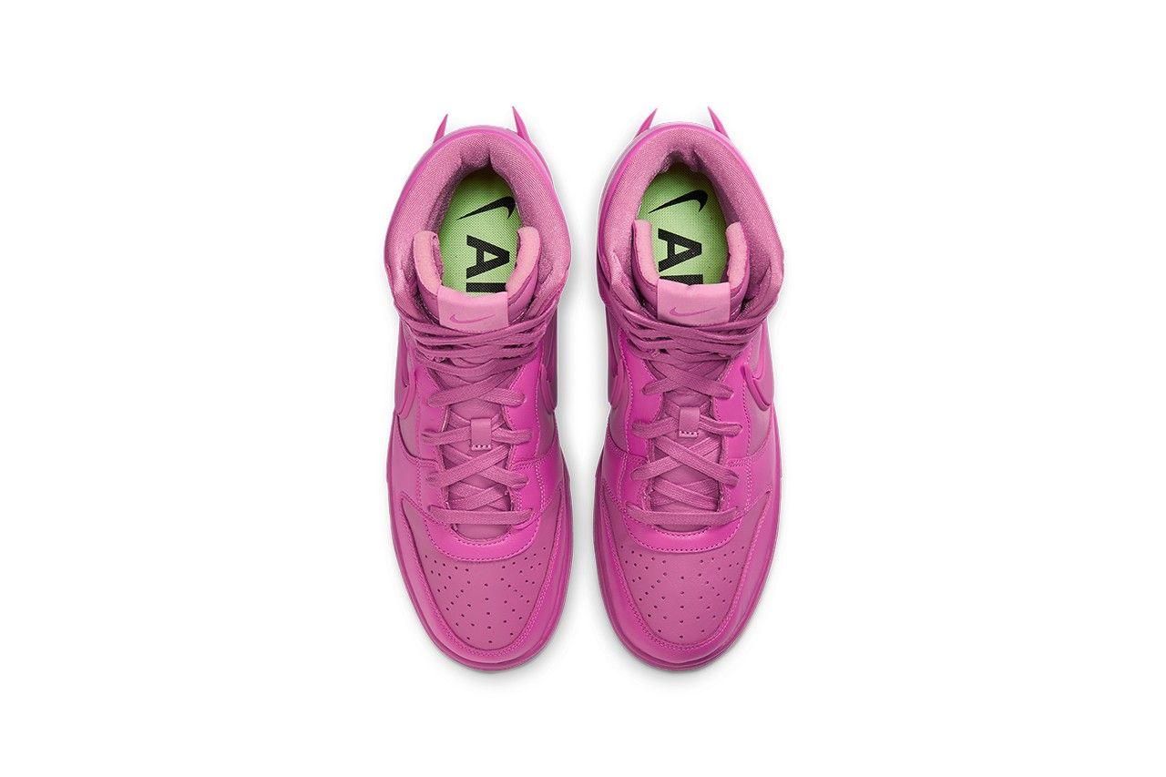 AMBUSH x Nike Dunk High 'Cosmic Fuchsia'