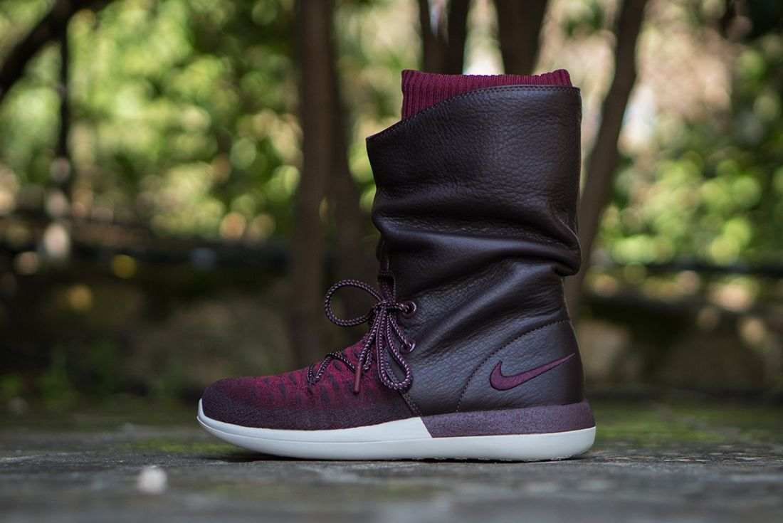 Nike Roshe Two Hi Flyknit Wmns Deep Burgundy