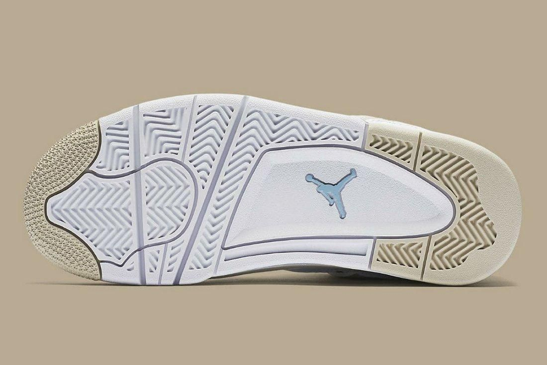 Air Jordan 4 Gs Linen 2017 Retro5