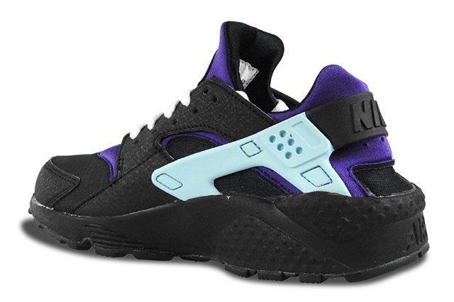 Nike Air Huarache Black Court Purple 2