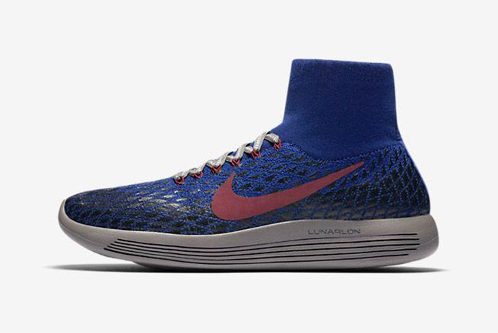 Nike Gyakusou Lunarepic Flyknit Shield Blue 2