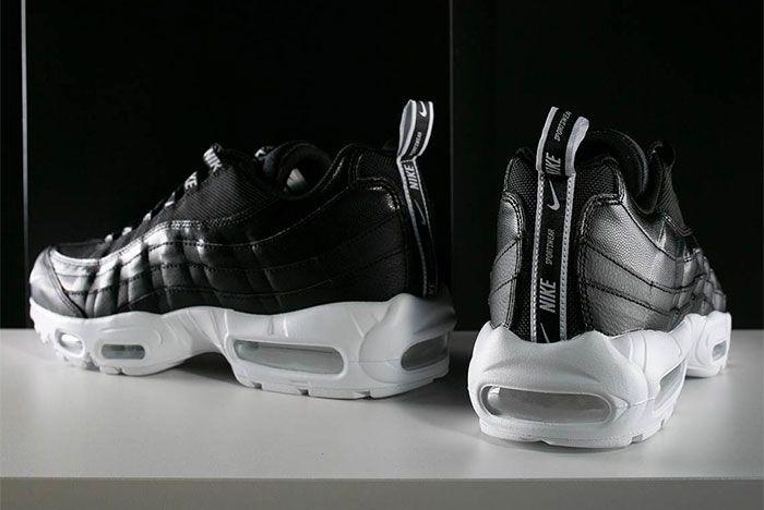 Nike Air Max 95 Black White Overbranding 8