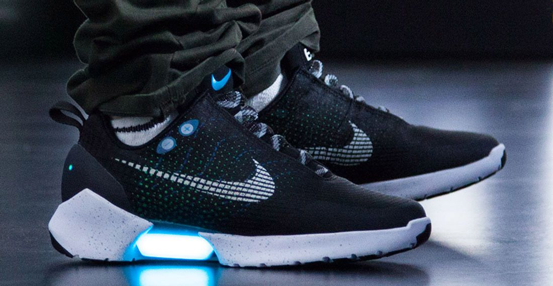 Matreial Matters Nike Hyperadapt On Foot 1 1
