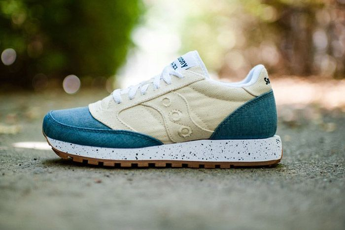 Saucony Jazz Original Denim White 2