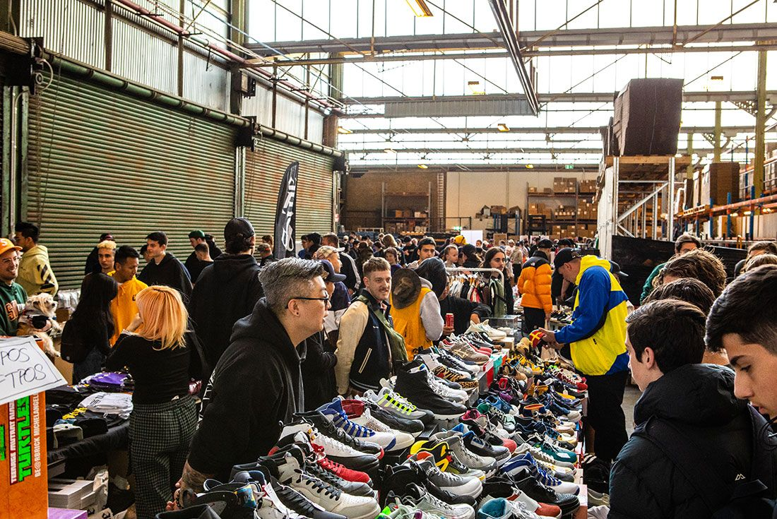 Sneaker Freaker Swap Meet October 201998