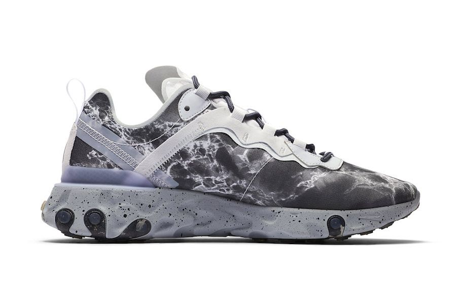 Kendrick Lamar Nike React Element 55 Cj3312 001 Release Date Medial