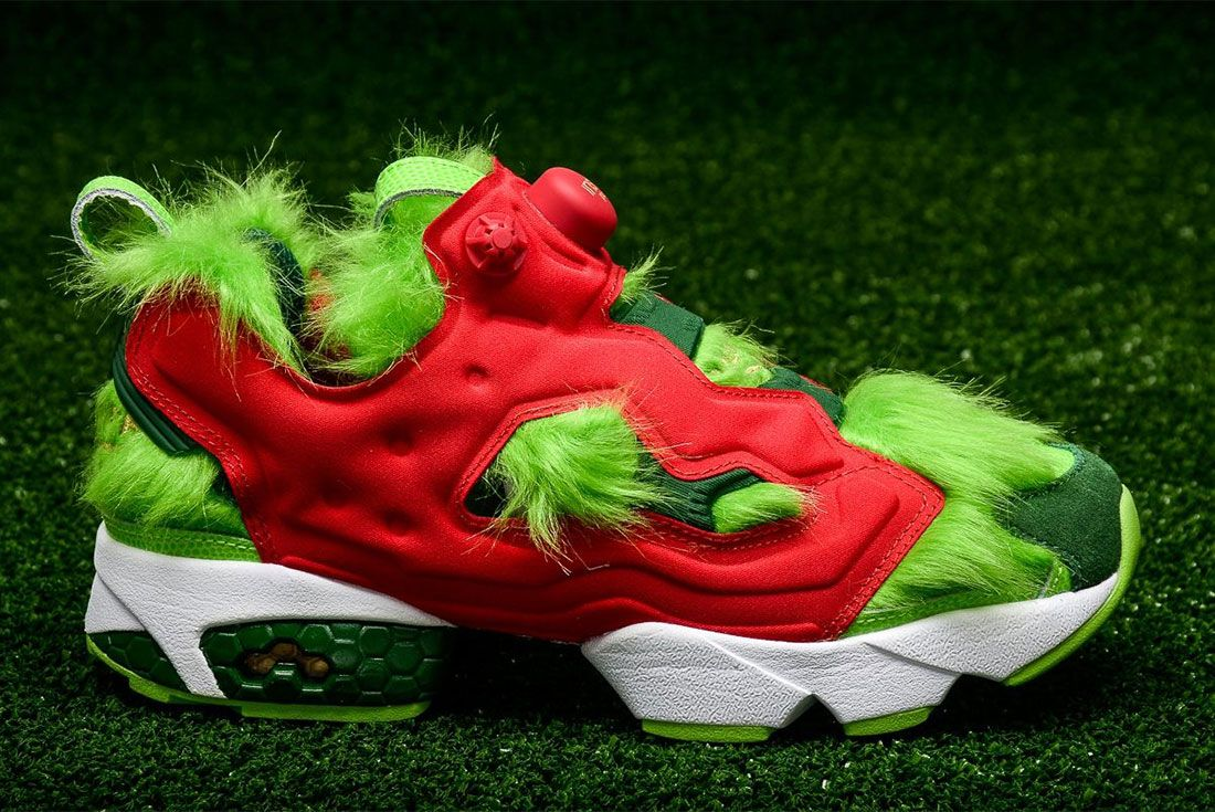 Reebok Instapump Furygrinch Side Shot 2