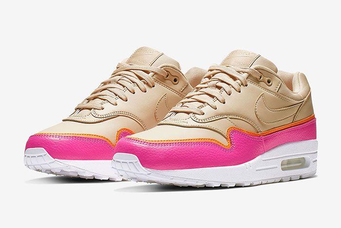 Nike Air Max 1 Layer Pink Quarter