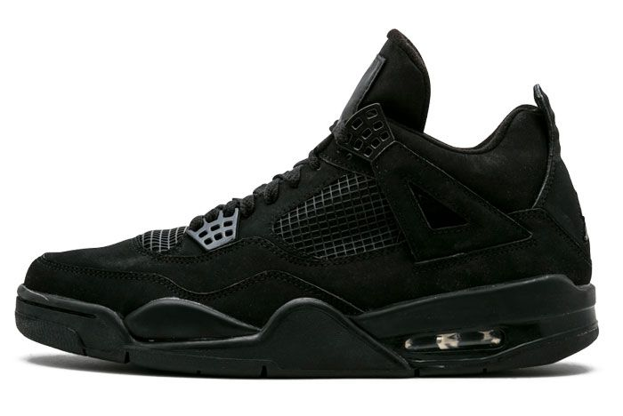 Air Jordan 4 Black Cat Left