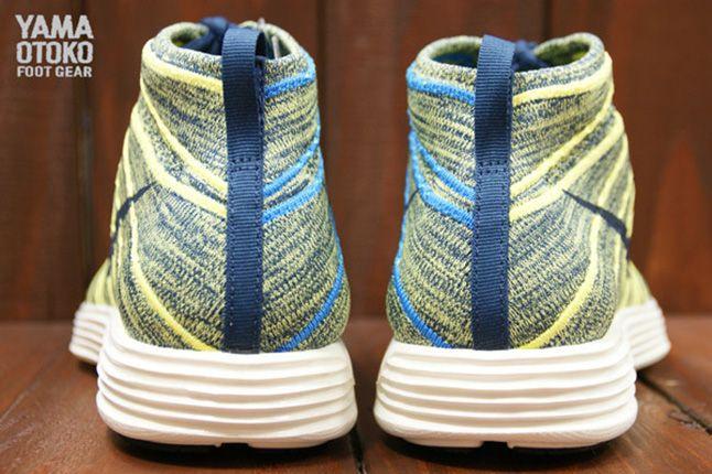 Nike Lunar Flyknit Chukka Electric Yellow 1