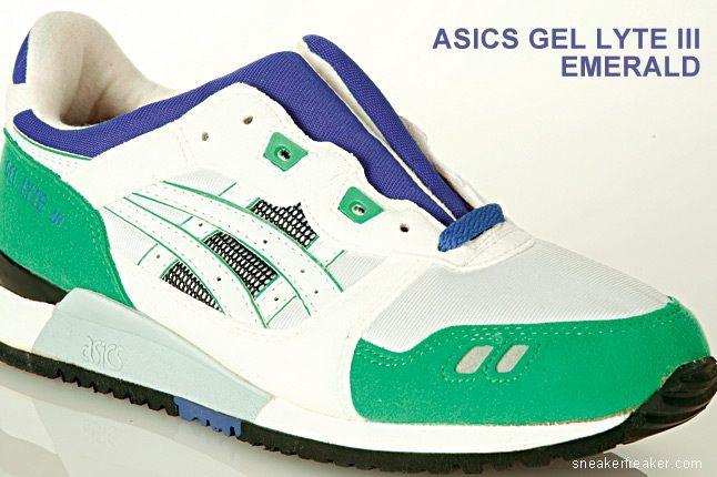 Asics Gel Lyte Iii Emerald 1
