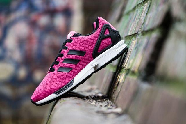 Adidas Zx Flux Kids Bold Pink 3