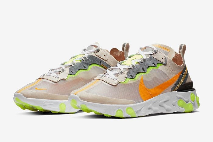 Nike React Element 87 Orewood Brown 2
