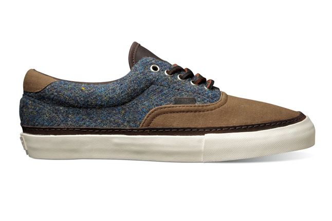 Vault By Vans X Harris Tweed Era 46 Ht Lx Bronze Khaki Fall Holiday 2012 1