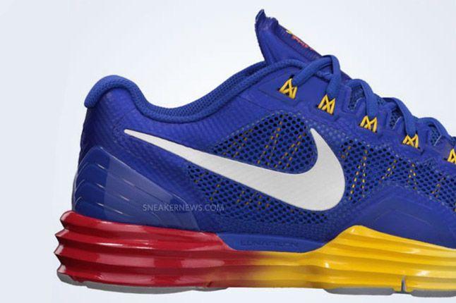 Manny Pacquiao Nike Lunar Tr1 Heel 1