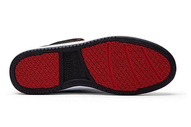 Supra S1W Black Red Outsole 1