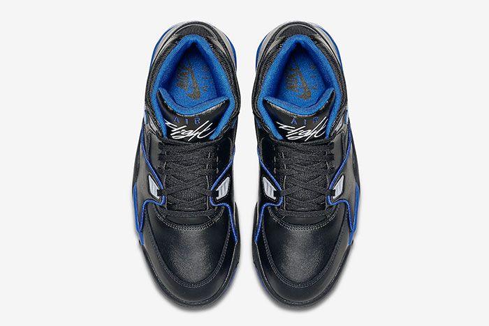 Nike Air Flight 89 Black Royal Blue 819665 001 Top