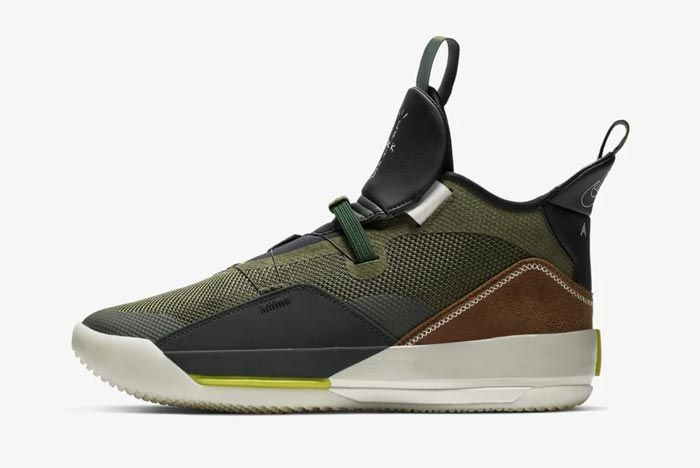 Air Jordan 33 Travis Scott Lateral