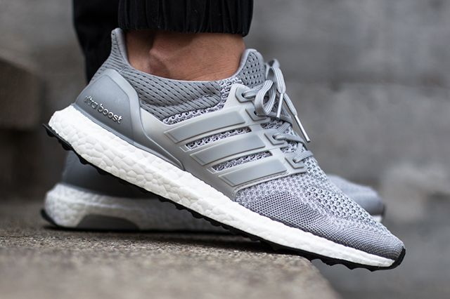 Adidas Ultra Boost Silver White Thumb