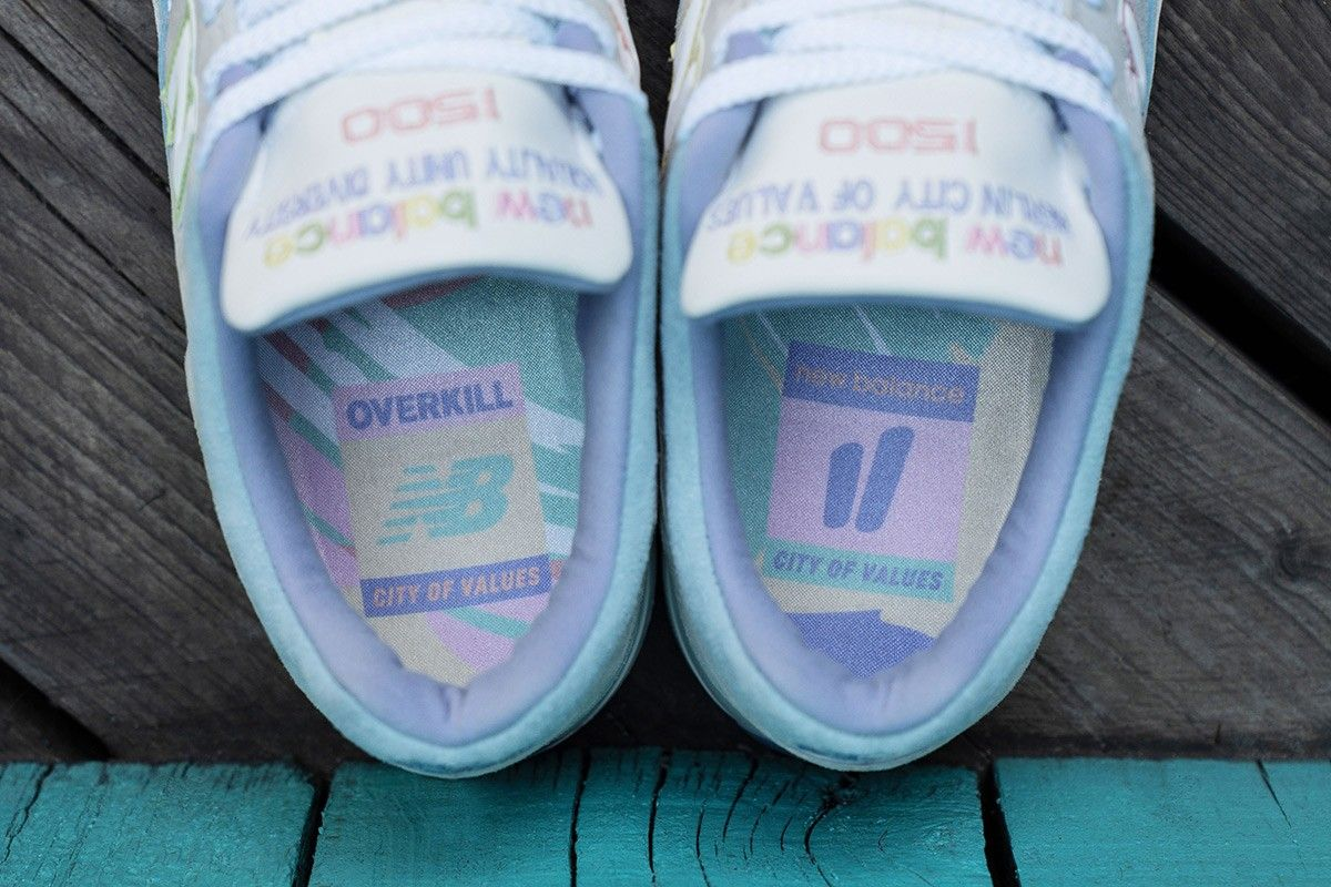 Overkill x New Balance Berlin City of Values 1500 Sole