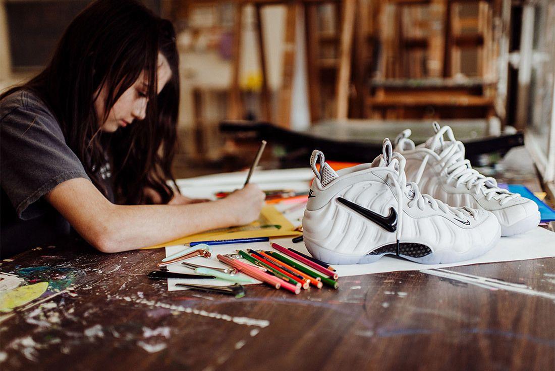 Nike Air Foamposite Pro All Star Interchangeable Swoosh Sneaker Freaker 9