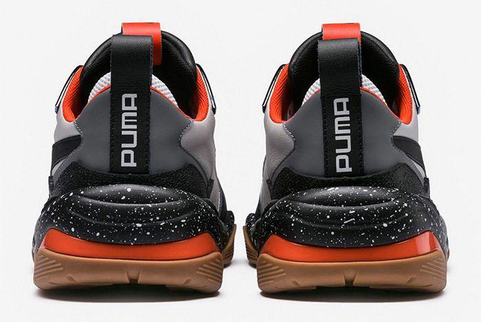 Puma Thunder Electric Black Orange 367996 01 2