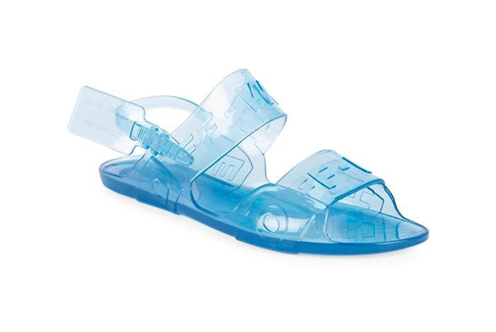 Offwhite Jelly Sandal 1