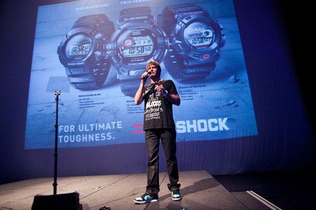G Shock Jonathan Pease 1