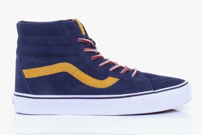 Vans 2012 Holiday Color Pop Pack Sk8 Hi Yellow 1