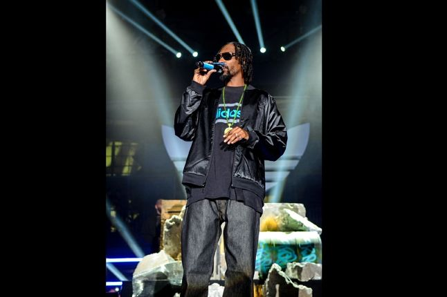 Adidas Originals Los Angeles Pop Up Concert Snoop Doggy Lion 1