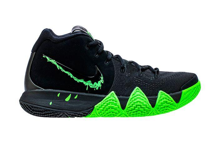 Nike Kyrie 4 Halloween Black Green 1