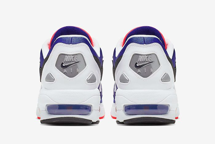 Nike Air Max 2 Light Purple Crimson Back