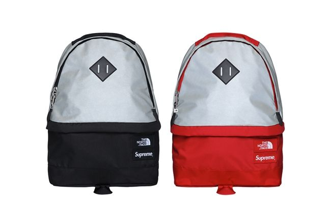 Supreme North Face 3M Collection Backpack Red Black 1