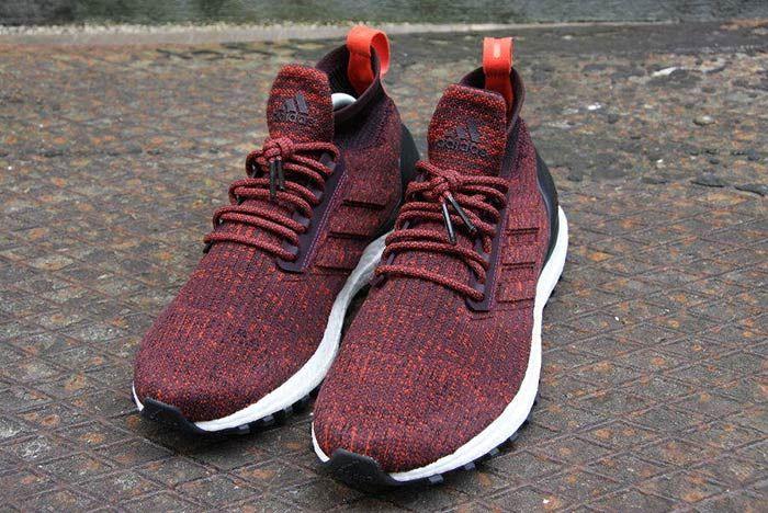 Adidas Ultraboost Mid Atr Burgundy 1