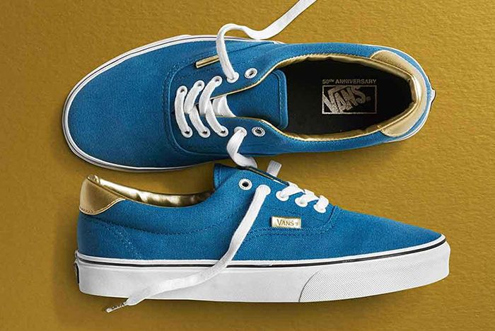 Vans 50 Th Anniversary Gold Collection3