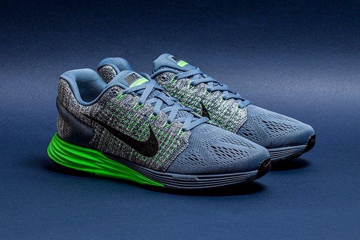 Nike Womens Lunar Glide 7 Ocean Fog 1