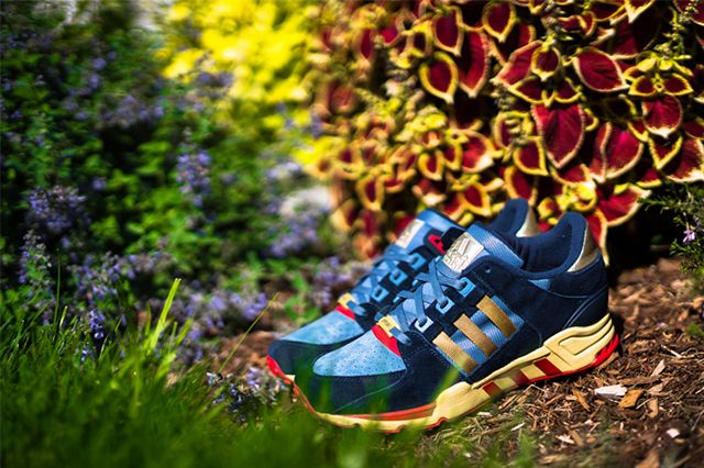 Packer Shoes X Adidas Eqt 2