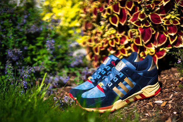 Packer Shoes X Adidas Eqt 2