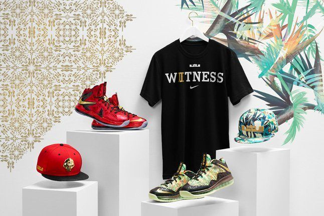 Nike Lebron X Backtoback Pack Tropical Group Shot2 1