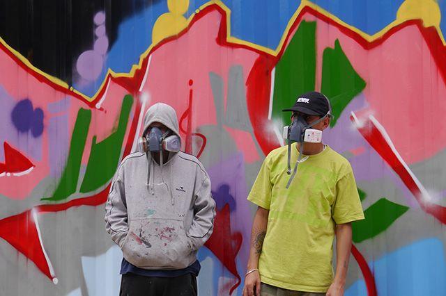 Boxpark Live Graffiti Zombie Dyet Dds 8