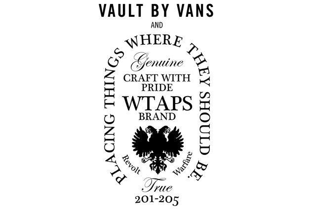 Vans Vault Wtaps Og Classics Collection Fall 13 14