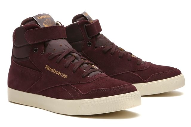Reebok Classics Reserve The Franchise Hi Burgundy 1