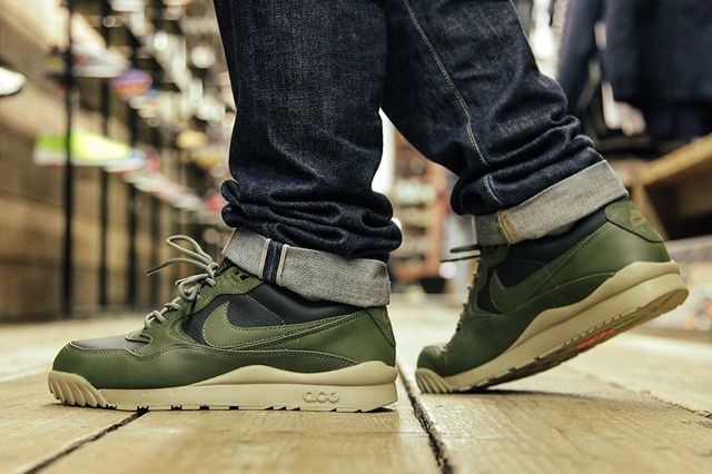 Nike Air Wildwood Acg Deep Green Bumper 2