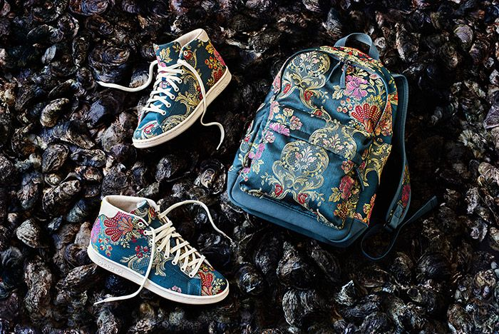 Adidas Pharrell Williams Stan Smith Mid Jacquard Floral 2