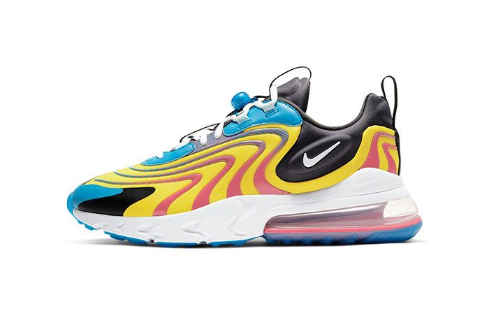 Nike Air Max 270 React Eng Laser Blue Cd0113 400 Lateral