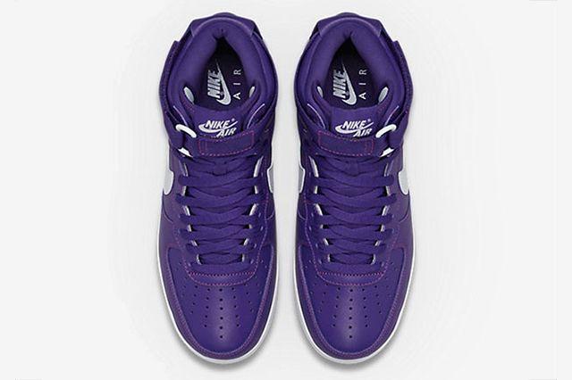 Nike Air Force 1 High Purple4