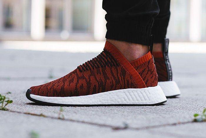 Adidas Nmd City Sock 2 Harvest Red 5