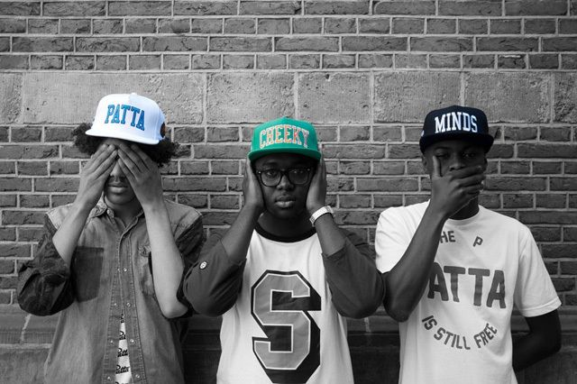 Patta Cheeky Minds Cap Collection 1
