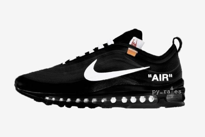 Nike Off Ehite Am 97 Black